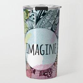 Imagine In Color Travel Mug