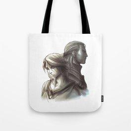 The Witcher 3 - Ciri / Geralt Artwork Tote Bag