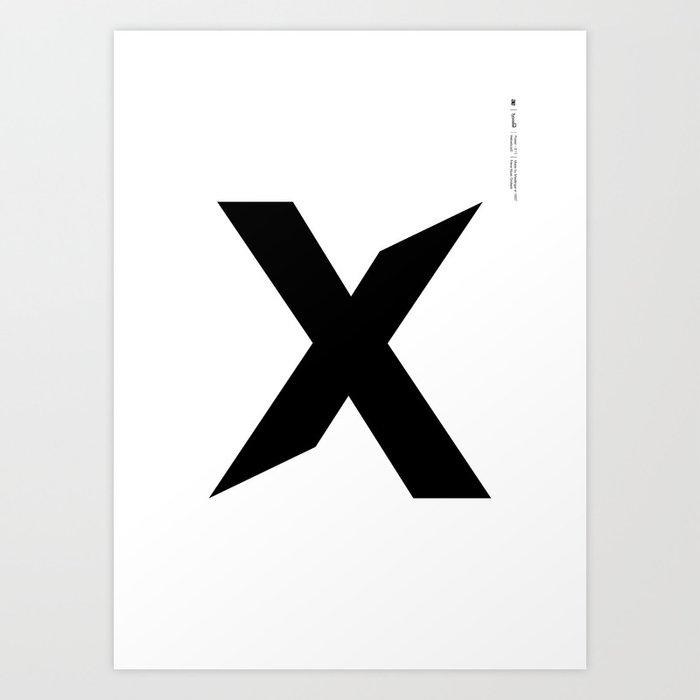 Helvetica Typoster #11 Art Print