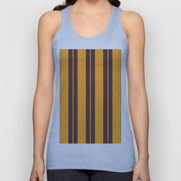 Retro Vintage Striped Pattern Unisex Tank Top