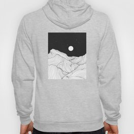 Lines in the mountains II Hoody