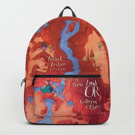 Land of OR - Map Backpack