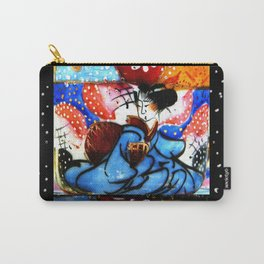Japanese lady in kimono Carry-All Pouch
