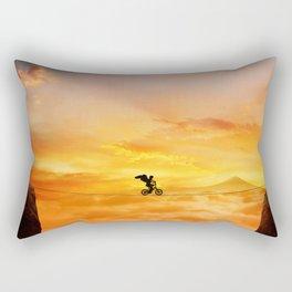 sunset balance Rectangular Pillow