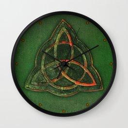 Book of Shadows Wall Clock