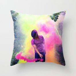 MUSIC POP Throw Pillow