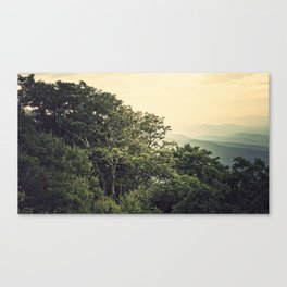 The View from Mary's Rock Canvas Print