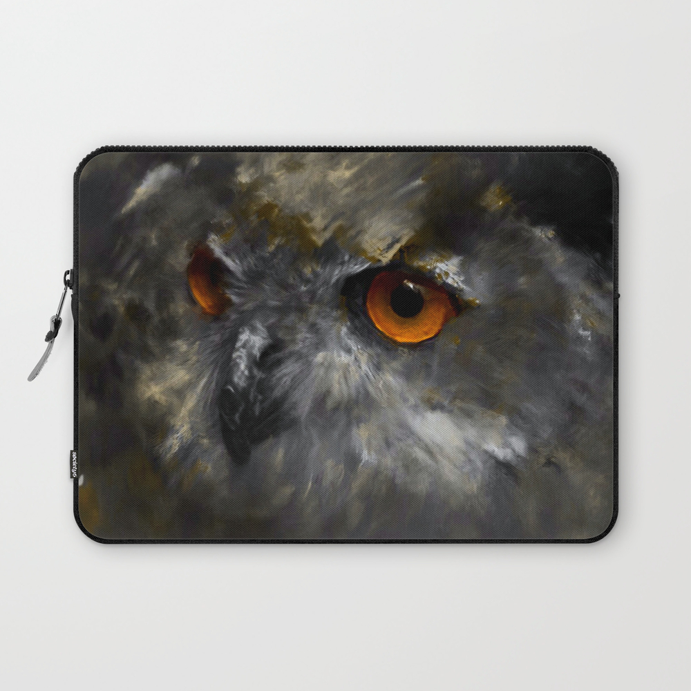 Ruler Of The Night Laptop Sleeve LSV9097859