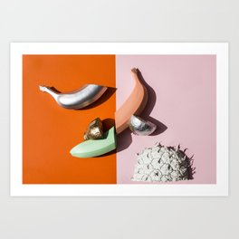 Banana Split v3 Art Print