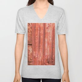 Childhood of humankind: Lock from the future Unisex V-Neck