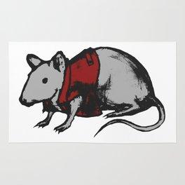 Punk mouse Rug