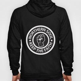 Northern Soul - Keep the Faith logo Hoody