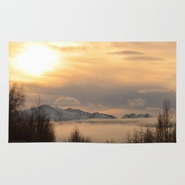 Winter Fog Rug