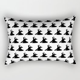 Ballroom Dancers Rectangular Pillow