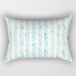 Arrow up aquatica pattern Rectangular Pillow