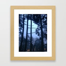 Nightblues Framed Art Print