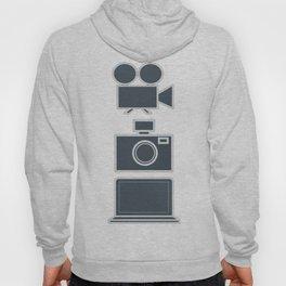 Multimedia vertical Hoody