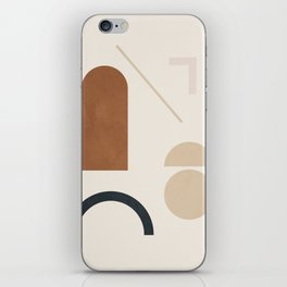Geometric Modern Art 32 iPhone Skin