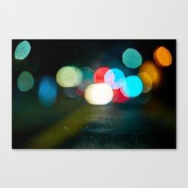 Northern California Lights Canvas Print