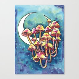 Mushroom Patch Canvas Print