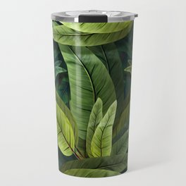 """Retro Tropical Tiki Fantasy 02"" Travel Mug"