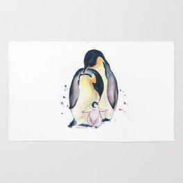 Penguins Family Rug
