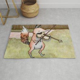 Violin Fox Rug