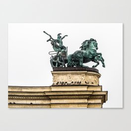 The Chariot. Canvas Print