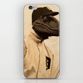 Baseball Velociraptor iPhone Skin