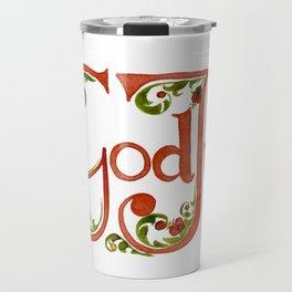 God Jul, God Folk Travel Mug