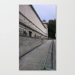 At the Tate,London Canvas Print