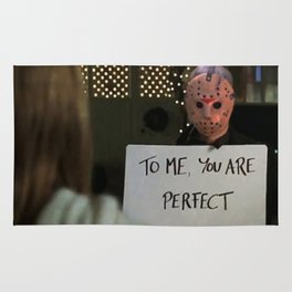 JASON VORHEES IN LOVE ACTUALLY Rug