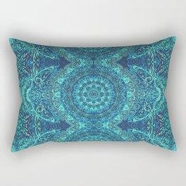 Mandala Sea Rectangular Pillow
