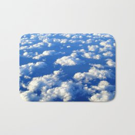 Blue Blue Sky by Lika Ramati Bath Mat