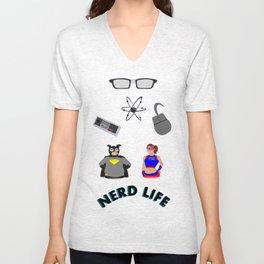 Nerd Life Unisex V-Neck