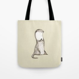Sitting Otter Tote Bag