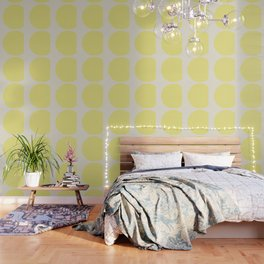 color field - yellow and cream Wallpaper