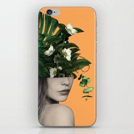 Lady Flowers Vlll iPhone Skin