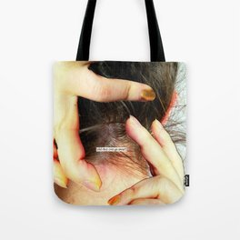 Do we wallow in our mental health issues because we think they make us more interesting as people an Tote Bag