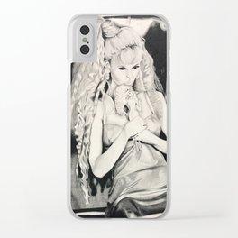 Claudia schiffer Clear iPhone Case