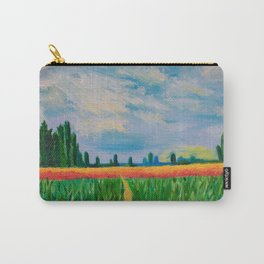 Monet's Expressionism Wheat Field Carry-All Pouch