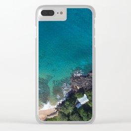 Maui Views Clear iPhone Case