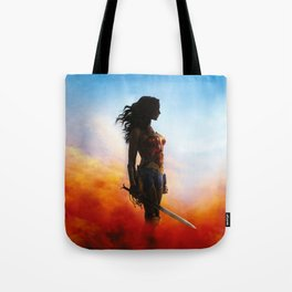 fighter woman Tote Bag