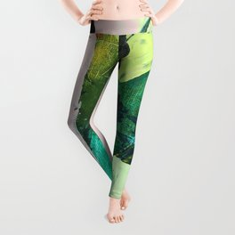Hopeful[4] - a bright mixed media abstract piece Leggings
