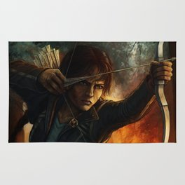 Katniss Everdeen Rug