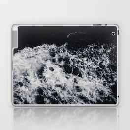 OCEAN - WAVES - SEA - ROCKS - DARK - WATER Laptop & iPad Skin