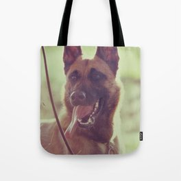 Malinios Beauty dog picture Tote Bag