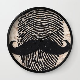 The Detectives Print Wall Clock
