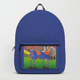 Udderly Frank - Funny Cow Art Backpack