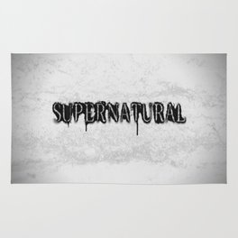 Supernatural monochrome Rug